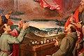 Santi di tito, madonna della cintola, 1600 (banca popolare di vicenza) 07 sarcofago fiorito e paesaggio.jpg