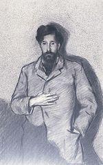 Retrat de Santiago Rusiñol