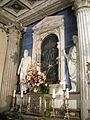 Santuario di Santa Maria dell'Impruneta, interno, tempietto della vergine. luca della robbia 01.JPG