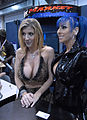 Sara Jay and Raven Black at AVN Adult Entertainment Expo 2009.jpg