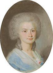 Portrait of Kamilla Szubertowa.