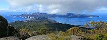 Schouten Island-Topography and geology-Schouten Island