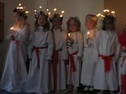 Children in a nursery school in Sweden singing traditional Lucia songs, 2005