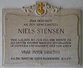 Schwerin Propsteikirche St. Anna Gedenktafel Niels Stensen 2014-05-23-2.jpg
