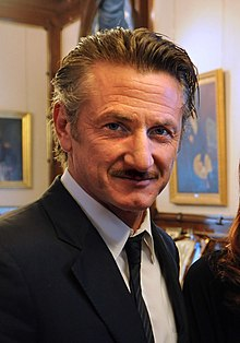 Sean Penn - the hot, fun, desirable, enigmatic,  actor  with Irish, Jewish, Italian,  roots in 2019