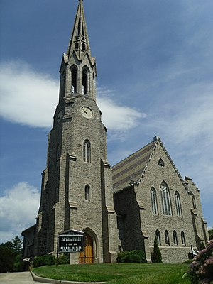 Putnam Hill Historic District - Image: Second Congregational Church, Greenwich, Connecticut