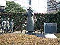 Seiyo Ongaku Hassyo Kinen Statue 20100107.jpg