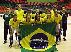 Seleção Brasileira de Futebol de Salão Feminino (CNFS) – Wikipédia ... c245ec8702495
