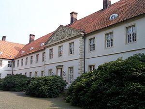 Cappenberg Castle - Schloss Cappenberg: central block