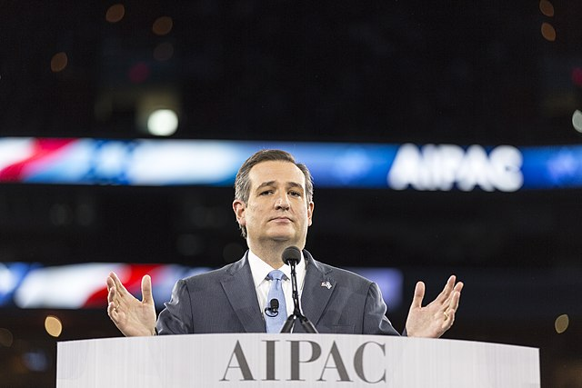 Senator Ted Cruz at AIPAC
