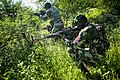 Senegalese service members participate in a patrolling exercise as part of Africa Partnership Station (APS) 2013 in Thies, Senegal, Sept 130916-M-PE262-010.jpg