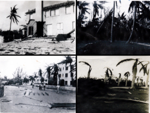 1947 Fort Lauderdale hurricane - Image: September 1947 hurricane in Delray Beach
