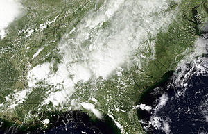 2009 Southeastern United States floods - Storms on September 21 were responsible for flooding over the South Eastern United States