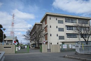 Settsu City Settsu 5th Junior High School.JPG