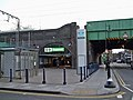 Shadwell DLR stn northern entrance.JPG