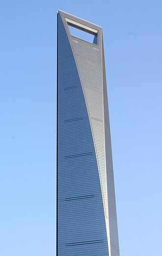 Kohn Pedersen Fox - Shanghai World Financial Center, Shanghai, China