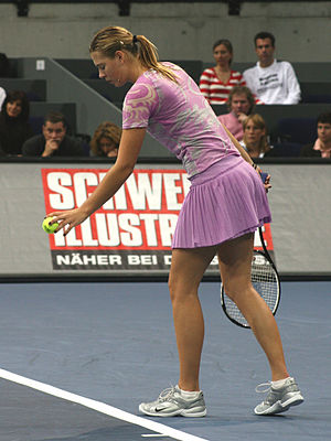 Maria Sharapova am Zurich Open 2006