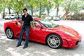 Sharman Joshi promotes 'Ferrari Ki Sawaari' at IIFA 2012 06.jpg