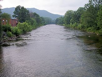 Shavers Fork in Parsons, West Virginia
