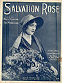 Sheet music cover - SALVATION ROSE (1919).jpg