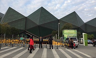 Shenzhen Universiade Sports Centre building in Shenzhen, China