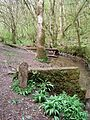 Shepton Mallet Rural District Council Boundary Stone, Harridge Wood. - panoramio.jpg
