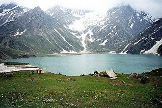 Sheshnag Lake - Image: Sheshnag 4