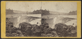 Showing the Cliffs in the Rocks. Toll Bridge in the distance, from Robert N. Dennis collection of stereoscopic views.png