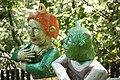 Shrek with wife - Ogród bajek w Międzygórzu.jpg