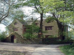 Hapton, Lancashire - Image: Shuttleworth Hall, near Padiham geograph.org.uk 11423 (cropped)
