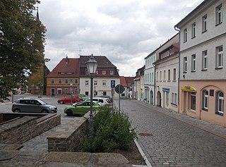 Siebenlehn Town in Saxony, Germany
