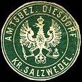 Siegelmarke Amtsbezirk Diesdorf - Kreis Salzwedel W0226904.jpg