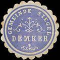 Siegelmarke Gemeinde Siegel Demker W0360886.jpg