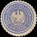 Siegelmarke Königl. Universitäts-Augenklinik Göttingen W0323294.jpg
