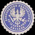 Siegelmarke K.Pr. 10te Infanterie Brigade W0343104.jpg
