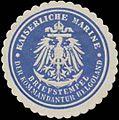 Siegelmarke K. Marine Briefstempel der Kommandantur Helgoland W0357393.jpg
