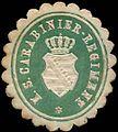 Siegelmarke K. S. Carabiner-Regiment W0285615.jpg