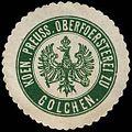 Siegelmarke Koeniglich Preussische Oberförsterei zu Golchen W0240036.jpg