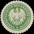 Siegelmarke Kreisausschuss des Kreises Strelno W0390621.jpg