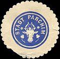Siegelmarke Stadt Parchim W0214246.jpg