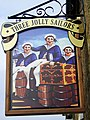 Sign for the Three Jolly Sailors, Burniston - geograph.org.uk - 630507.jpg