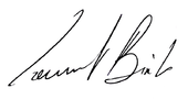 Signature de Laurent Binet