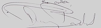 Thierry Baudet - Image: Signature of Thierry Baudet