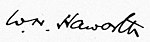 Signature of W.N. Haworth.jpg