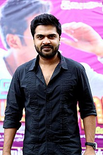 Silambarasan Indian film actor, director, writer, composer, dancer, lyricist and playback singer