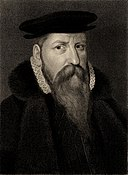 Sir George Bowes died 1580 - brother of Bridget Bowes.jpg