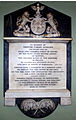 Sir Trevor Corry's Memorial in St. Mary's Church in Newry - the date of death is incorrect. The Corry Coat of Arms at the top includes the Polish White Eagle..jpg