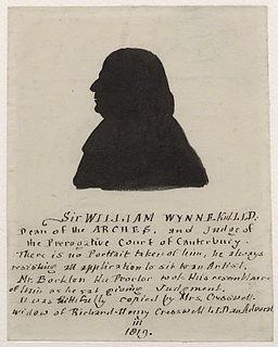 William Wynne (judge) English judge and academic
