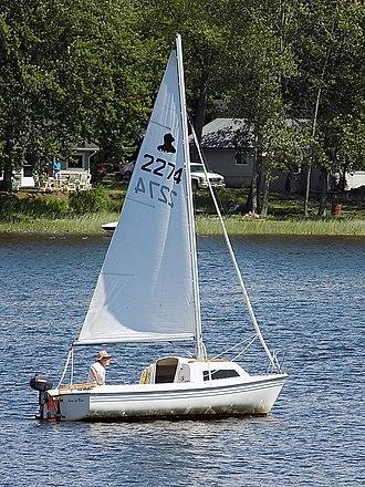 Siren 17 - Image: Siren 17 sailboat 0991