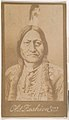 Sitting Bull, from the Indian Chiefs series (N681) promoting Old Fashion Fine Cut Tobacco MET DPB870027.jpg